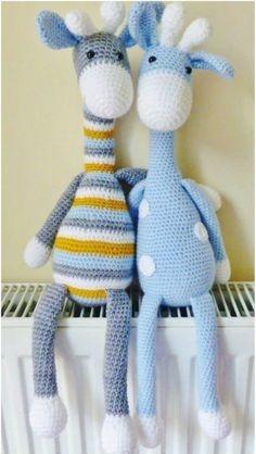 Amigurumi, Girafa Em Croche - R$ 139,00 em Mercado Livre | 418x236