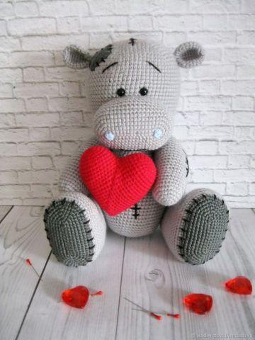 Círculo S/A - Hipopótamo em Amigurumi   Facebook   480x360