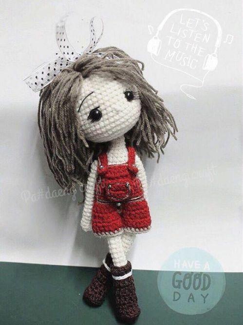 Boneca amigurumi no Elo7 | Crochetados por Angela Witt (C9AA6A) | 667x500