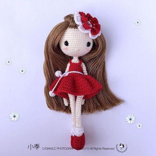 Boneca de crochê: +40 ideias com amigurumi fantásticas ... | 503x503
